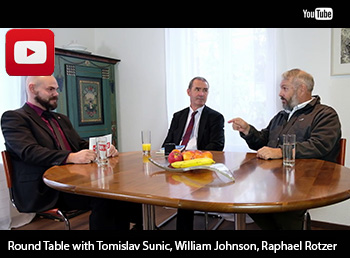 Round Table with Tomislav Sunic, William Johnson and Raphael Rotzer